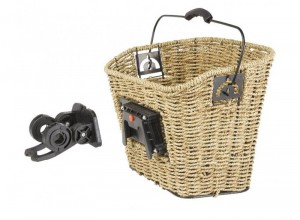 Seagrass Front Basket Clip-On