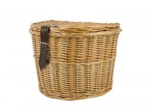 Wicker Side Rear Basket