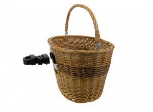 Genuine Wicker Front Basket