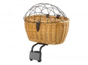 Wicker Rear Pet Basket